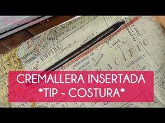 Cómo poner una cremallera insertada o del ojal paso a paso | Manualidades