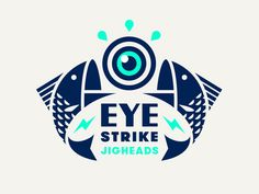 Eye Strike by Jay Fletcher on Dribbble Logo Branding, Self Branding, Best Logo Design, Brand Identity Design, Graphic Design, Print Design, Web Design, Logo Inspiration, Negative Space Logos