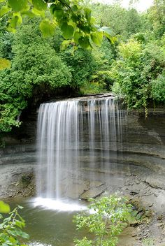 Bridal Veil Falls, located on Manitoulin island. We used to own property there ..beautiful place in Canada