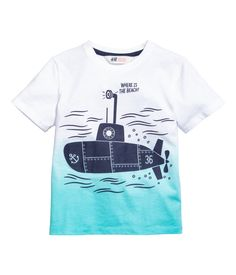 T-shirt with a print | Product Detail | H&M