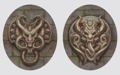 Devils (bas-relief) by Vetrova on deviantART