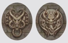 Devils (bas-relief) by Vetrova on deviantART