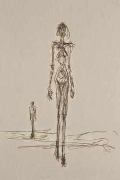Alberto Giacometti Drawings Giacometti