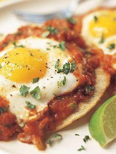 Huevos Rancheros :: America's Test Kitchen :: Recipes Breakfast Dishes, Breakfast Time, Breakfast Recipes, Kitchen Recipes, Cooking Recipes, Cooking Eggs, Southern Breakfast, Mexican Breakfast, Breakfast Tacos