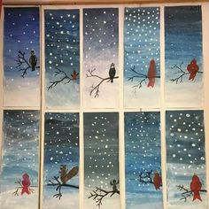 hiver Woman Knitwear and Sweaters womans sweater vest Winter Art Projects, School Art Projects, Arte Elemental, Classe D'art, 4th Grade Art, Grade 1, Kindergarten Art, Art Lessons Elementary, Art Lesson Plans