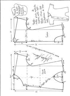 Sewing shirt kids dress patterns 34 ideas for 2019 Sewing Shirts, Sewing Kids Clothes, Sewing For Kids, Baby Sewing, Kids Dress Patterns, Baby Clothes Patterns, Baby Patterns, Sewing Patterns, Toddler Outfits