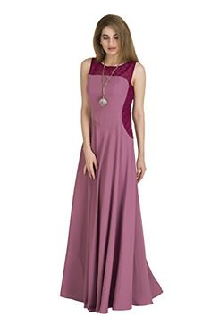 Color/ Fabric Details - Light Purple Crepe Flared Maxi Gown with Burgundy/Wine Lace ; Fully Stitched as per Size Short Sundress, Mini Shirt Dress, Maxi Gowns, Long Bridesmaid Dresses, Beachwear, Contouring, Lace, Light Purple, Burgundy Wine