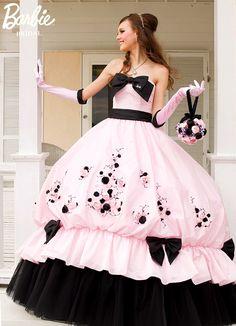 fiesta de quince anos cristiano | ... Fiesta de 15 Años tipo Barbie 111 Vestidos para Fiesta de 15 Años