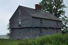 McIntire Garrison House in York County, Maine.
