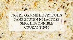 Boulangerie, pâtisserie sans gluten ni lactose