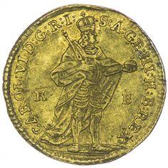 Dukat 1732 KB RDR Haus Österreich Karl VI. 1711 - 1740