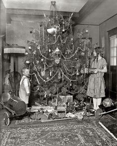 Рождественские елки прошлого века