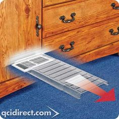 air deflector - magnetic deflector moves air flow where you want