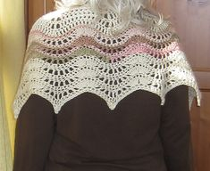 While on vacation in Mexico Beach, FL I was inspired to create a shawl to remind me of the waves. The result is a truncated crescent shaped shawl based on a ripple pattern. Crochet Shawls And Wraps, Crochet Scarves, Paper Lotus, Crescent Shape, Types Of Jackets, Mexico Vacation, Wrap Pattern, Ravelry, The Help