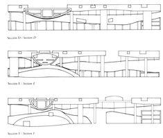 Delicia Pre-Digital: Koolhaas y el Centro de Convenciones en Agadir, 1990 Agadir, Frank Gehry, Oma Architecture, Architectural Association, Steven Holl, Rem Koolhaas, Amazing Drawings, How To Plan, Architectural Drawings