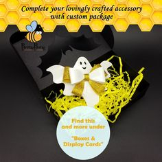 Halloween Ghost bow template SVG, baby bow clip PDF, Cricut cut file, Silhouette cut file. This Cute Halloween Ghost Bow SVG template for Cricut and Silhouette cutting machines. Halloween Hair Bows, Halloween Ghosts, Cute Halloween, Bow Template, Flower Template, Templates, Felt Flowers Patterns, Bow Display, Glitter Canvas