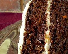 chocolate carrot cake... my favorite!
