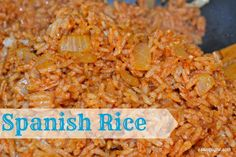 Spanish Rice - I've never been one for Spanish rice, but this is the best I've ever had! It's simple to make, and highly nutritious @Sarah Chintomby {Simply Me}