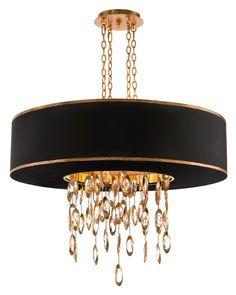 Black Tie Chandelier - Chandeliers - Lighting Interio