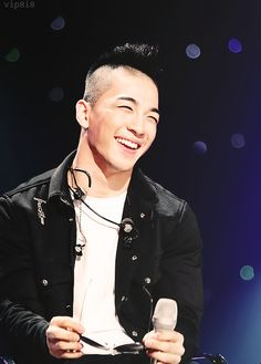 Taeyang...that smile is so cute