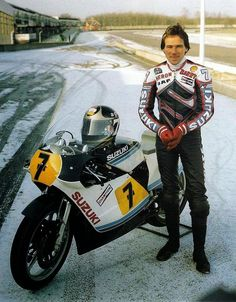Racing Cafè: Photo #591 - Barry Sheene 1983