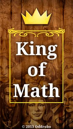 King of Math is an app that features a fast-paced math game that integrates a variety of math problems. As the user answers problems correctly, they move up from a farmer to eventually king status. Apps For Teaching, Teaching Math, Maths, Math Games, Math Activities, Mathematics Games, Math Problems, Project Based Learning, Middle School