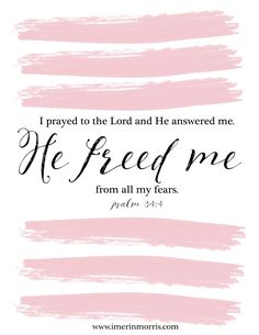 Erin Morris: He Freed Me | + a free printable