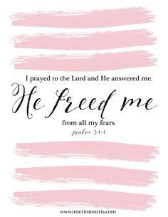 Erin Morris: He Freed Me | + a free printable