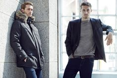 All the latest men's fashion lookbooks and advertising campaigns are showcased at FashionBeans. Click here to see more images from the Tu Sainsburys Winter 2016 Men's Lookbook