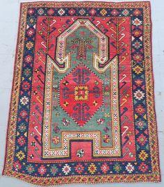 Caucasian Sewan Kazak Prayer Rug