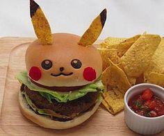 Pikachu Burger #Geek