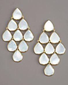 Ippolita Cascade Mother-of-Pearl Earrings.