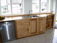 Furniture , Benefits Of Free Standing Kitchen Cabinets : Shaker Style  Wooden Free Standing Kitchen Cabinets Part 84