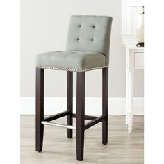 Pepperton Tufted Swivel Counter Stool In 2019 Kitchen