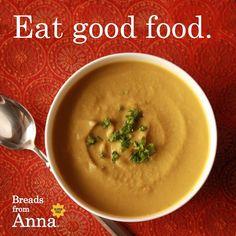 Eat good food.