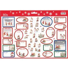 Christmas Gift Labels - 80 Pack - Charlotta Carlquist https://www.scandinavianshoppe.com/store/p/1712-Christmas-Gift-Labels-80-Pack.html