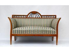 Biedermeier Sofa in Kirsche, Wien um 1830 - Antike Möbel und Antiquitäten Hense