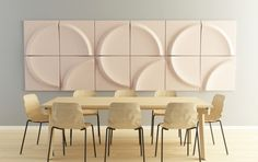 Gaia acoustic panel by Stone Designs » Retail Design Blog