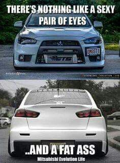 She's a keeper. Car Memes, Car Humor, Funny Memes, Tuner Cars, Jdm Cars, Best Car Photo, Slammed Cars, Mitsubishi Cars, Mechanic Humor