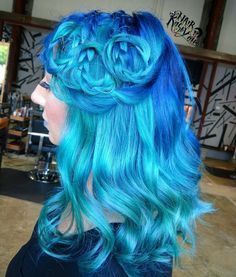 More Ocean hair