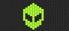 Simple Alien bead pattern