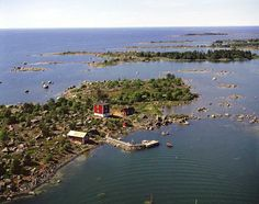 Oura Islands or Islets in Merikarvia Finland.