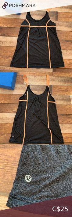 LULULEMON Long Tank Used and in good condition Size tag removed, please see measurement photos lululemon athletica Tops Tank Tops Shorts With Tights, Yoga Shorts, Under Armour Bra, Black Ruffle Dress, Nike Pro Women, Green Bomber Jacket, Dance Tops, Plus Fashion, Fashion Tips