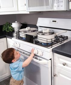 Why is this not a standard? These should be everywhere. Kids under five? Must have a stove guard.