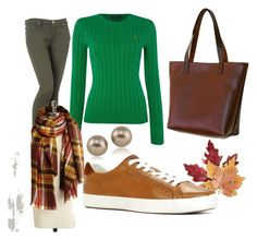 """""""Welschtiroler fall outfit"""" by aissela-irotras on Polyvore featuring Carolee, 7 For All Mankind, Polo Ralph Lauren, Croft & Barrow, ALDO and Artisan-Collage"""