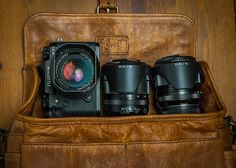 I had to kick the X100S out of the Ona Bowery to make room for my Fuji X-T1 and assorted lenses.