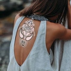 So love this metallic tattoo