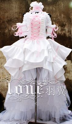 Japan Anime Cosplay Costume Chobits Chii Customized Party Dress New Arrival