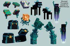 MCVinnyq (@MCVinnyq) / Twitter Minecraft Mobs, Minecraft Kunst, Minecraft Pictures, Minecraft Blueprints, Minecraft Fan Art, Minecraft Designs, Minecraft Stuff, Minecraft Architecture, Minecraft Buildings