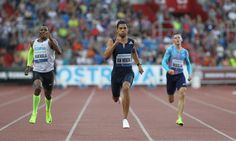 Olympic champion beats Michael Johnson& mark with while Usain Bolt and Mo Farah are also among the winners at the Golden Spike meeting Wayde Van Niekerk, Mo Farah, Golden Spike, Newham, Michael Johnson, Usain Bolt, World Records, World Championship, Olympics